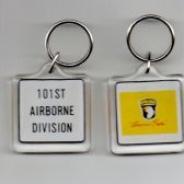 101st AIRBORNE THE SCREAMING EAGLES KEY RING